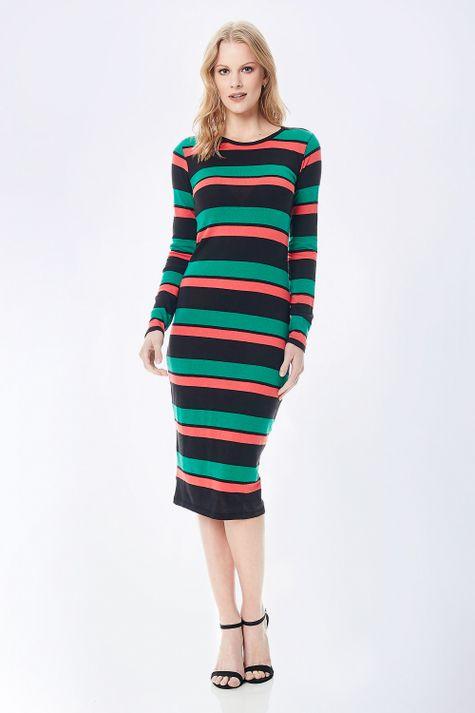 Vestido-Midi-Listras