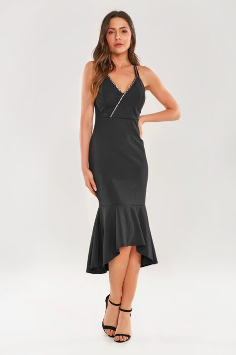 Vestido-Justo-Luxuoso