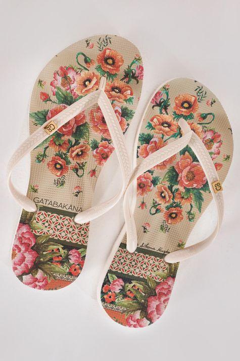 Chinelo-Carmem-Miranda-Floral