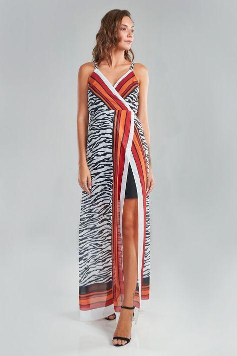 Vestido-Longo-Zebra