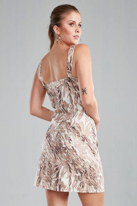 Vestido-Justo-Safari-Chic