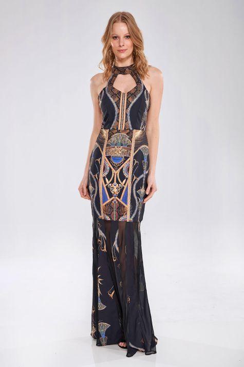 Vestido-Longo-Egiptian