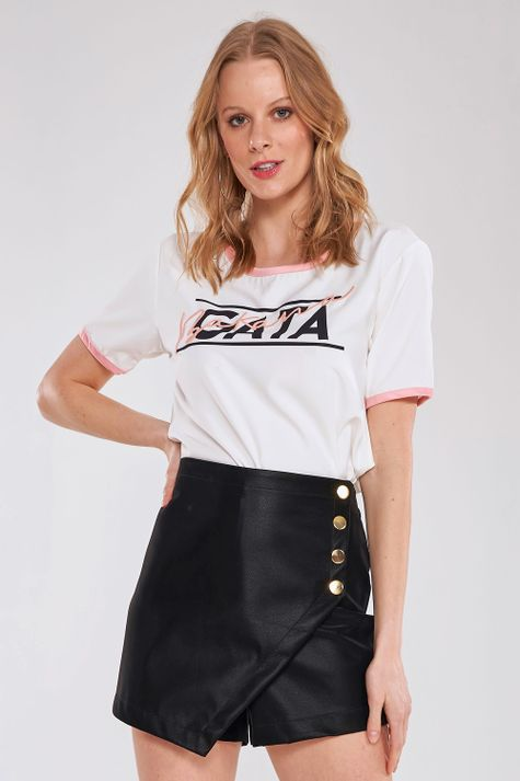 Shorts-Saia-Gold