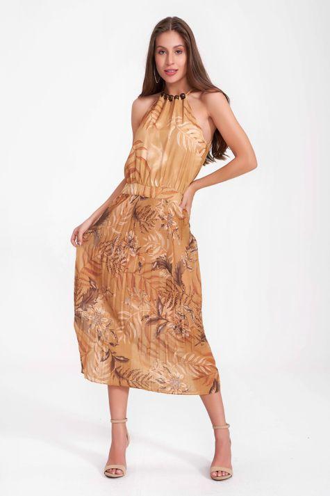 Vestido-Solto-Plissado-Uniflor