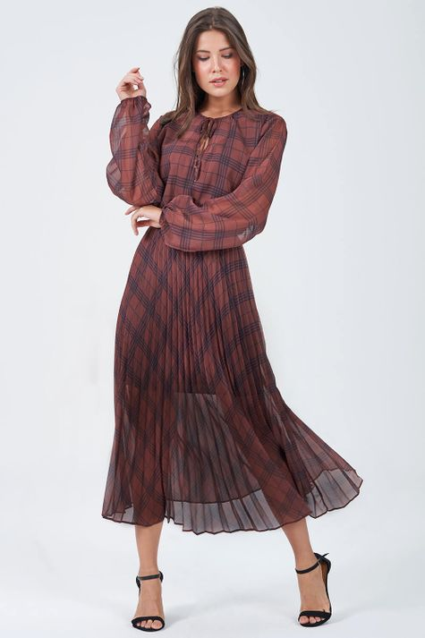 Vestido-Solto-Xadrez