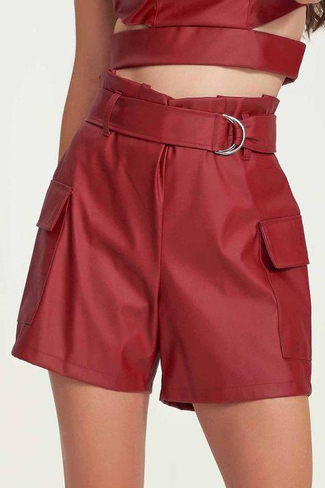 Shorts-Cargo-Couro