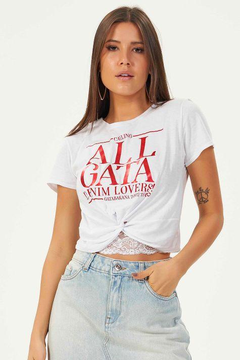 T-Shirt-Gata-Denim-Lovers
