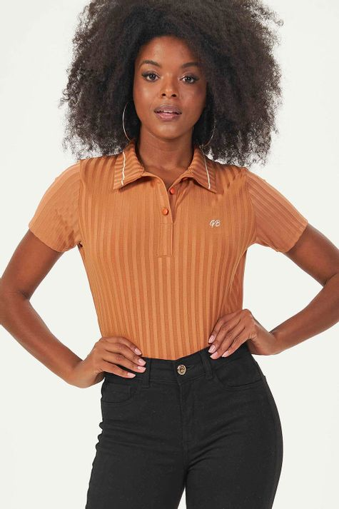 Cropped-Polo-Bronze