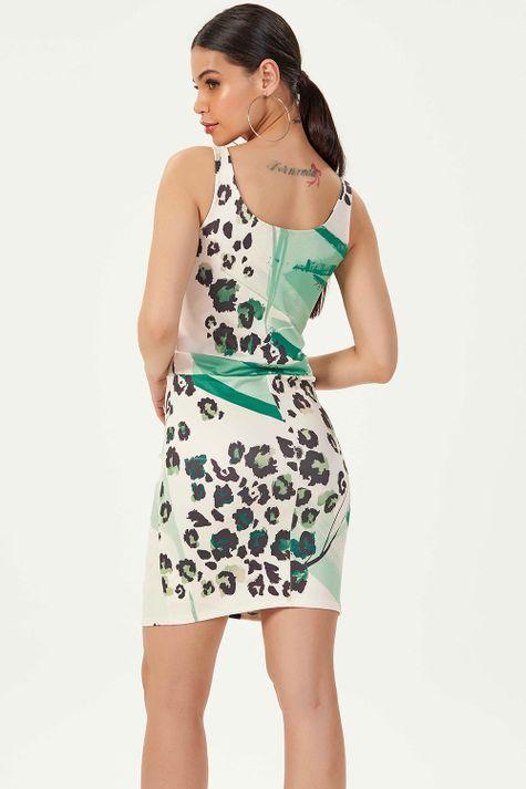 Vestido-Justo-Animal-Print