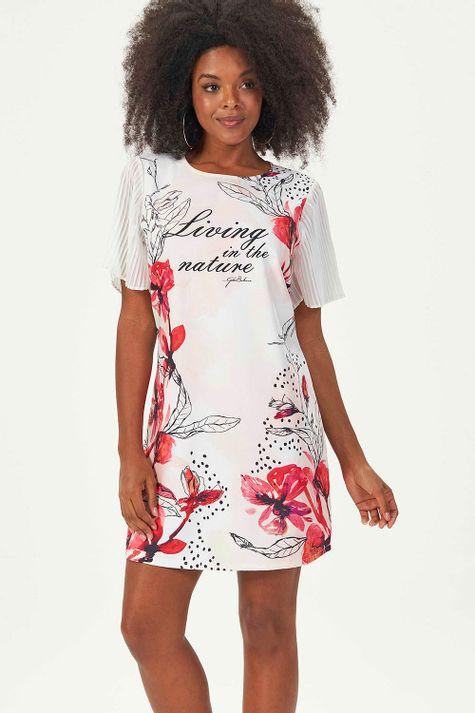 Vestido-Solto-Floral-Dots