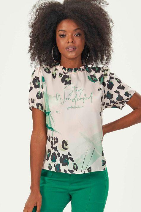 T-Shirt-Animal-Print