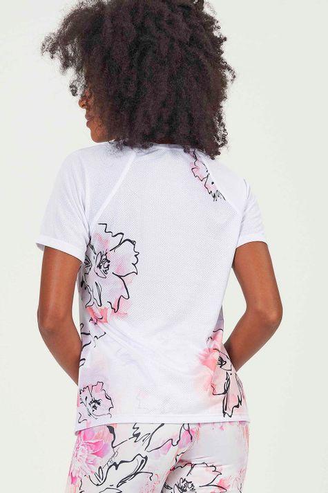 T-Shirt-Flower-Digital