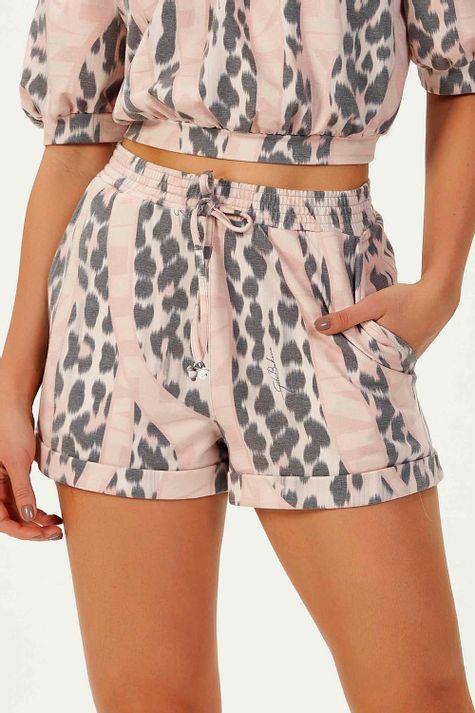 Shorts-Molicotton-Letter