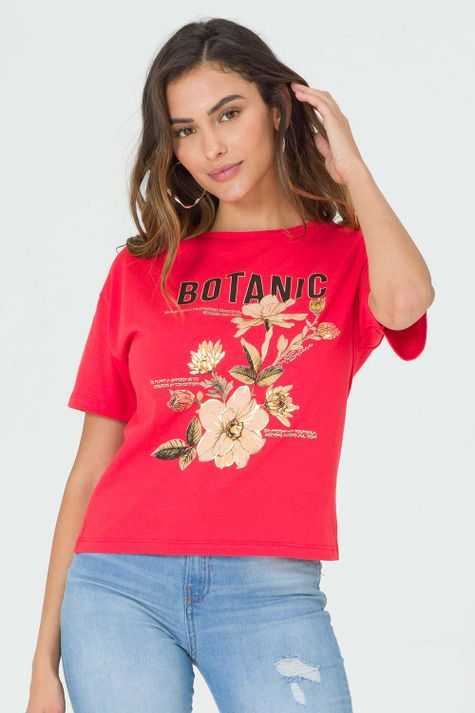 T-shirt-Botanic