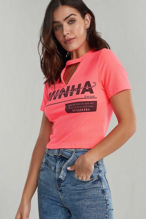 T-shirt-Curtinha-Neon