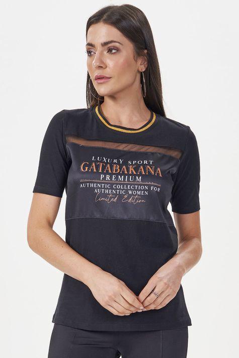 T-shirt-Gata-Luxe
