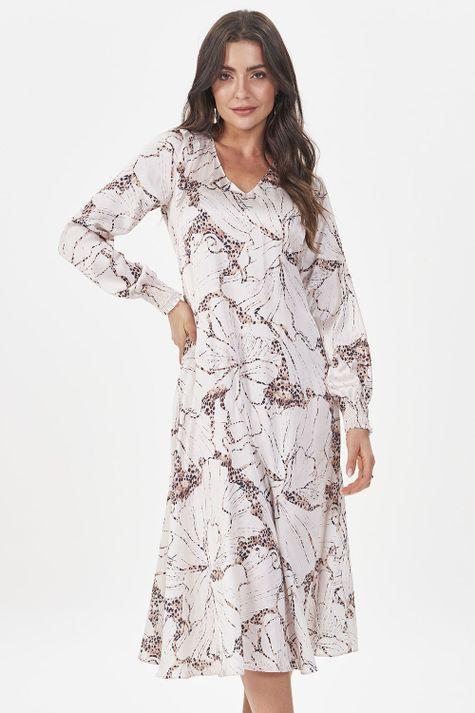 Vestido-Solto-Floral-Onca