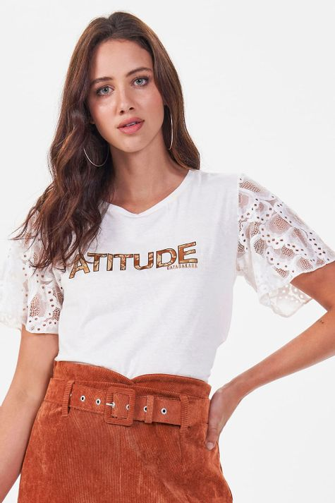 T-shirt-Lace
