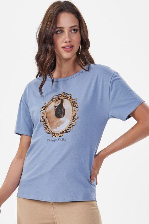 T-Shirt-Moldura