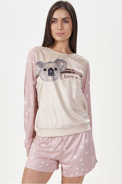 Pijama-Manga-Longa-Star