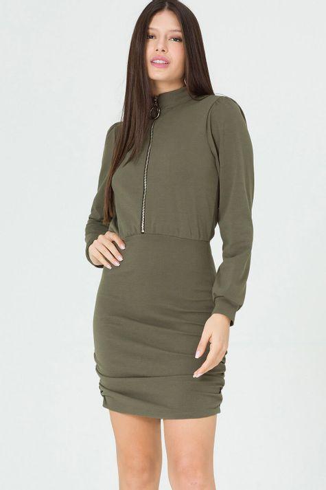 Vestido-Justo-Ziper