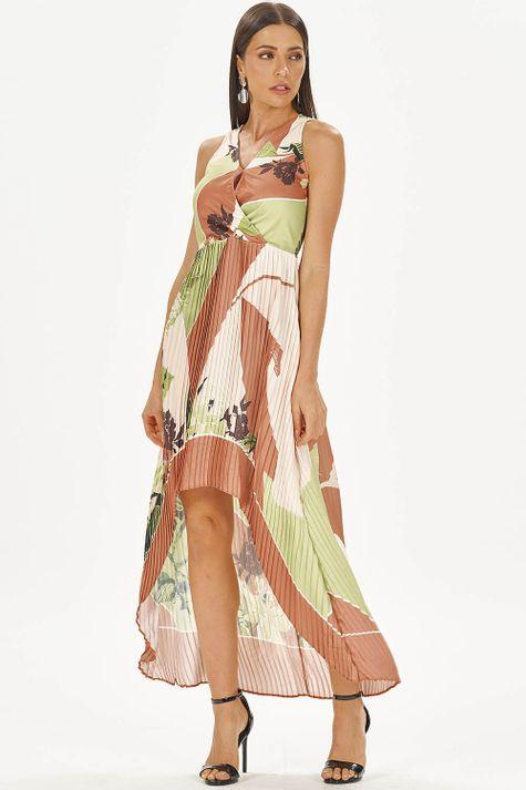 Vestido-Longo-Plissado