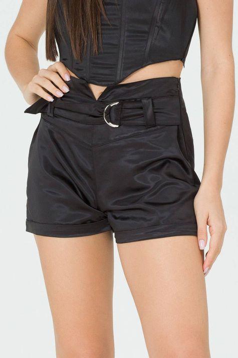 Shorts-Acetinado