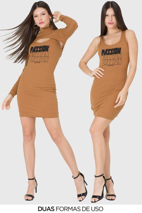 Vestido-Justo-Bolero