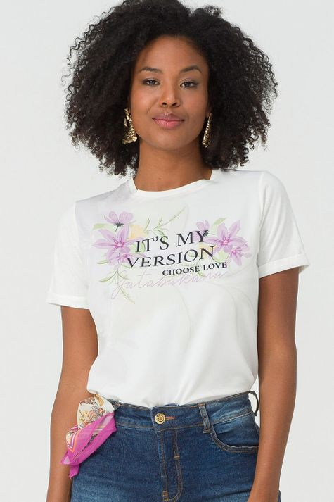 T-Shirt-Spring-Flower