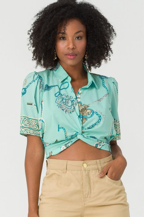 Camisa-Curta-Navy