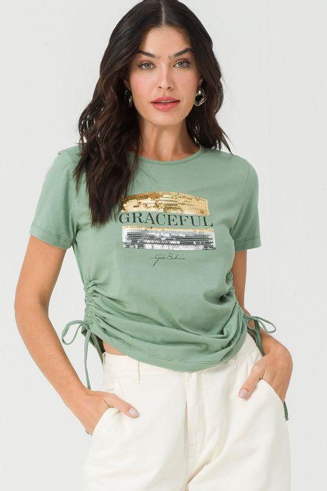 T-Shirt-Bordada