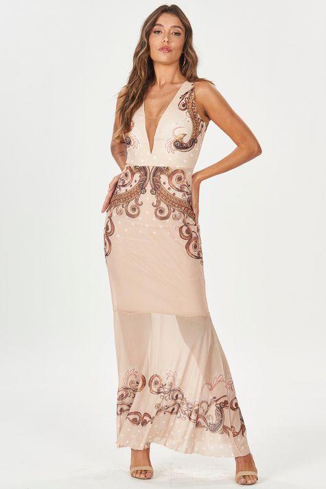 Vestido-Longo-Poa-Arabescos